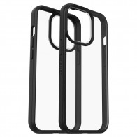 Otterbox React iPhone 13 Pro Max Hoesje Zwart Transparant 01