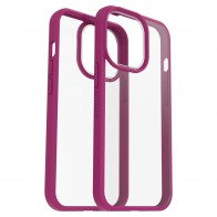 Otterbox React iPhone 13 Pro Max Hoesje Roze Transparant 01