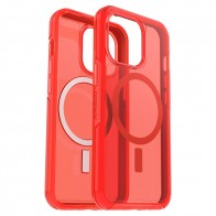 Otterbox Symmetry Plus Clear iPhone Rood 13 Pro Max 0