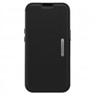 Otterbox Strada iPhone 13 Pro Folio Leer Shadow zwart 01