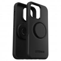Otterbox Otter+Pop Symmetry Clear iPhone 13 Pro Zwart 01