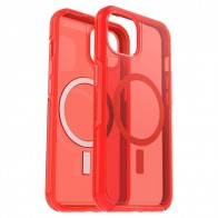 Otterbox Symmetry Plus Clear iPhone 13 Rood Transparant 01