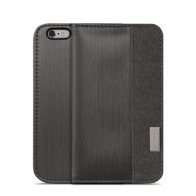 Moshi Overture Wallet Case iPhone 6 Steel Black - 1