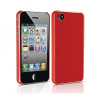 Philips DLM1374 HardShell iPhone 4 Red - 1