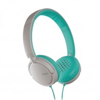 Philips SHL5002 On-ear Koptelefoon White/turqoise - 1
