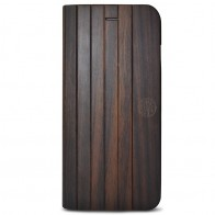 Reveal - Nara Folio hoes voor iPhone 7 Dark Wood 01