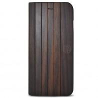 Reveal - Nara Folio hoes voor iPhone 7 Dark Wood 01