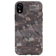 Richmond and Finch Trendy iPhone XR Hoesje Camouflage Grijs 01