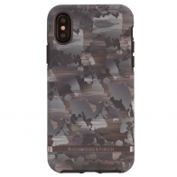 Richmond and Finch Trendy iPhone XS Max Hoesje Camouflage Grijs 01