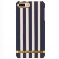 Richmond & Finch - Stripes Hoesje iPhone 7 Plus Flamingo Stripes 01
