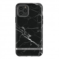 Richmond & Finch iPhone 12 / 12 Pro 6.1 inch Hoesje Black Marble - 1