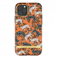 Richmond & Finch iPhone 12 / 12 Pro 6.1 inch Hoesje Orange Leopard - 1