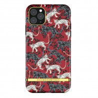 Richmond & Finch iPhone 12 / 12 Pro 6.1 inch Hoesje Red Leopard - 1