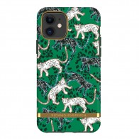 Richmond & Finch Trendy iPhone 12 Mini hoesje Green Leopard - 1