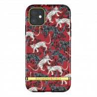 Richmond & Finch Trendy iPhone 12 Mini hoesje Red Leopard - 1