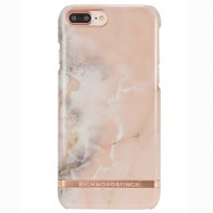 Richmond & Finch - Marble Glossy iPhone 7 Plus Rose Gold 01