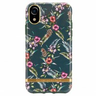 Richmond and Finch Trendy iPhone XR Hoesje Emerald Blossom 01