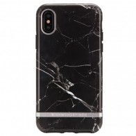 Richmond and Finch Trendy iPhone XS Max Hoesje Black Marble 01