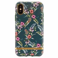 Richmond & Finch Trendy iPhone XS Max Hoesje Emerald Blossom 01