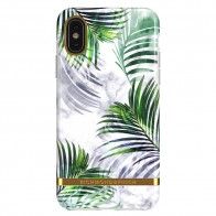 Richmond & Finch iPhone X/XS White Marble Tropics - 1