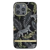 Richmond & Finch Trendy iPhone 13 Pro Hoesje Silver Jungle 01