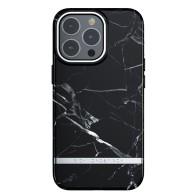 Richmond & Finch Trendy iPhone 13 Pro Hoesje Black Marble 01