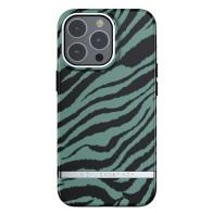 Richmond & Finch Trendy iPhone 13 Pro Hoesje Emerald Zebra 01
