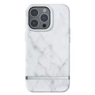 Richmond & Finch Trendy iPhone 13 Pro Hoesje White Marble 01