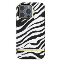 Richmond & Finch Trendy iPhone 13 Pro Hoesje Zebra 01