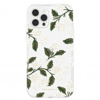 Case-Mate - Rifle Paper Flower Case iPhone 12 / iPhone 12 Pro 6.1 inch hydrangea white 01