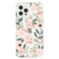 Case-Mate - Rifle Paper Flower Case iPhone 12 / iPhone 12 Pro 6.1 inch Wild Flowers 01