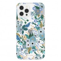 Case-Mate - Rifle Paper Flower Case iPhone 12 Pro Max 6.7 inch garden party blue 01