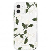 Case-Mate Rifle Paper Flower Case iPhone 12 Mini 5.4 inch hydrangea white 01