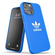Adidas Moulded Case iPhone 13 Pro Max Blauw / Wit 01