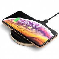 Satechi Wireless Qi Charger Gold - 1