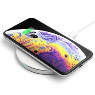 Satechi Wireless Qi Charger Zilver - 1