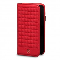 Sena Isa Quilted Wallet Book iPhone X Rood - 1