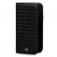 Sena Isa Quilted Wallet Book iPhone X Zwart - 1
