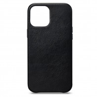 Sena Leather Skin iPhone 12 / 12 Pro 6.1 inch Zwart - 1