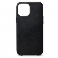 Sena Leather Skin iPhone 12 Mini Zwart - 1