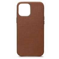 Sena Leather Skin iPhone 13 Mini Hoesje Bruin 01