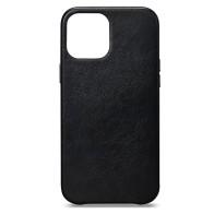 Sena Leather Skin iPhone 13 Mini Hoesje Zwart 01
