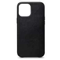Sena Leather Skin iPhone 13 Pro Max Hoesje Zwart 01