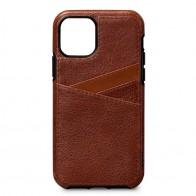 Sena Lugano Wallet iPhone 11 Bruin - 1