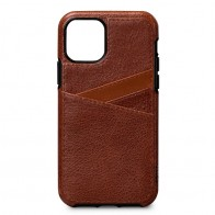 Sena Lugano Wallet iPhone 11 Pro Max Bruin - 1