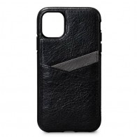 Sena Lugano Wallet iPhone 11 Zwart - 1