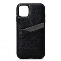 Sena Lugano Wallet iPhone 11 Zwart - 1