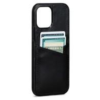 Sena Lugano Wallet Case iPhone 13 / 13 Pro ZWART 01