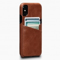 Sena Deen Lugano Wallet iPhone X/XS Cognac - 1