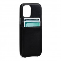 Sena Snap On Wallet iPhone 12 Mini Zwart - 1